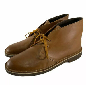 Clarks Chukka lace up Boot Tan Brown Men size 15 M 26112317 ankle boot