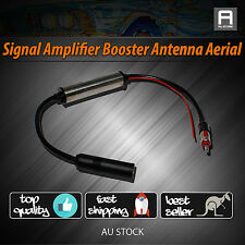 Duluxe Inline Car Hidden Antenna Aerial Radio AM FM Auto Booster AMPLIFIER Mast
