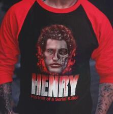 Henry - Portrait of a Serial Killer Raglan Shirt Officially Licensed