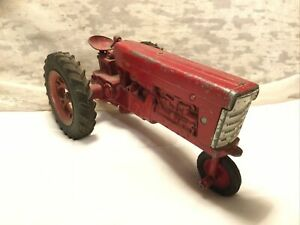 Vintage I H Farmall Farm Tractor 460 Diecast Metal Toy 1:16-Parts Or Restore