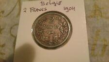 Belgium 1904 2 Francs / Leopold II