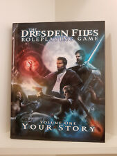 The Dresden Files: Volume 1, Your Story, Hardcover, RPG, Evil Hat/Fate