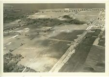 1940 Professional Aerial  Photo Site of Sheboygan's Wisconsin Oil Refinery WP-7