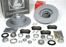 VW Golf II GTi - Zimmermann Bremsscheiben ABS Ringe Bremsbeläge Radlager hinten
