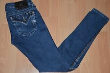 Miss Me womens jeans skiny slim bling studded size 26