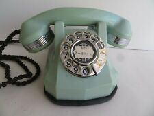 Automatic Electric  Nile Green AE40   Antique telephone Monophone