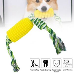 Indestructible Dog Molar Bite Teeth Cleaning Chew Toys Interactive Dental Care