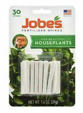 30 Jobe's HOUSEPLANT & ALL Outdoor Plants Fertilizer Food Spikes Sticks Garden