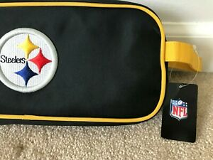 """Pittsburgh Steelers Travel Utility Case (12"""") CHARM 14 NEW!"""