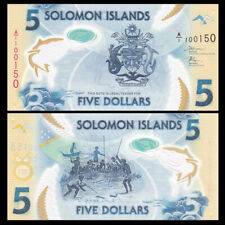 Salomonen / Solomon Islands 5 Dollars, ND(2019), P-NEW, Polymer, UNC