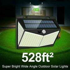 208 LED Waterproof Solar Power PIR Motion Sensor Wall Lamp Garden Outdoor V5X4