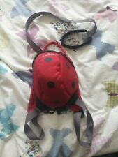 Little life backpack ladybird With Reins
