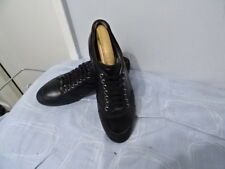 60d09aecf6e MENS RARE HUGO BOSS MADE IN ITALY BLACK LEATHER LACE-UP SHOES SIZE UK 4