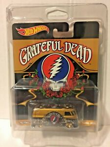 HOT WHEELS 2013 POP CULTURE GRATEFUL DEAD VOLKSWAGEN T1 PANEL BUS