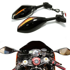 LED Turn Signals Motorcycle Mirrors For Honda CBR954RR CBR929RR CBR900RR Sport