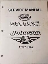 2000 Johnson Evinrude Service Manual, for 200 & 225 Hp models, PN 787064
