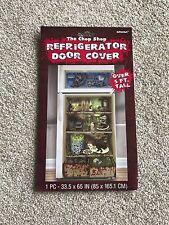 Halloween Refrigerator Door Cover Frighten Your Guests Great Fun Party Dec