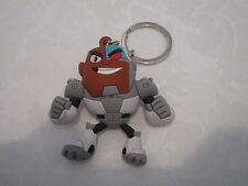 Loose Monogram Figural Teen Titans Go! Cyborg Keyring Key Chain