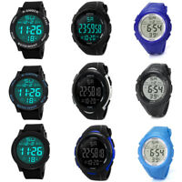 Luxuty Mens Water Resistance Watch Sports Mens Digital LED  Military Army Watch