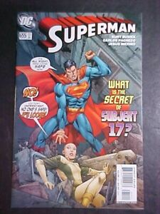 SUPERMAN #655! NM- 2006 DC COMICS