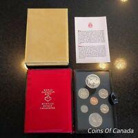 1974 Canada 7 Coin Prestige Silver Dollar Specimen Set ORIGINAL! #coinsofcanada
