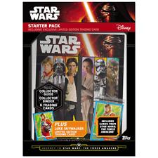 TOPPS STAR WARS The Force Awakens 207 Master card Set+binder+LTD Luke Skywalker