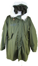 NEW Genuine Fishtail Parka M65 USA Military Hood Liner Unworn Size M Olive Drab