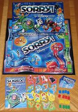 Disney Edition SORRY Game - 2001 Hasbro Parker Brothers - Complete & Nice