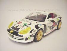 BBurago Porsche GT3 (996) Cup Maroc 2006 weiss 1:18
