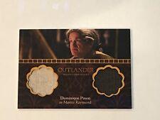 Cryptozoic Outlander Season 2 Dual Wardrobe Trading Card #DM1 Dominique Pinon