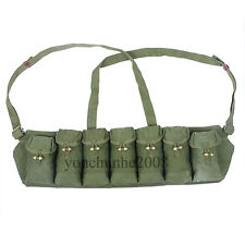 CHINESE MILITARY SURPLUS SKS RIFE 7.62X39 7 SEVEN POCKET M-63 CHEST RIG POUCH