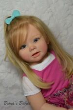 CUSTOM ORDER Reborn Doll Standing Toddler Bonnie by Linda Murray