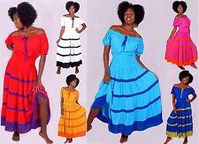 Rayon Women's Long Sleeve Maxi Dresses
