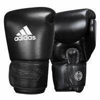 Adidas Muay Thai Glove 300 black, made in Thailand, Leder. Kickboxen, Thaiboxen