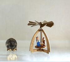 Dollhouse Miniature German Christmas Nativity Pyramid by Silvia Leiner