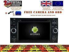 AUTORADIO DVD GPS NAVI ANDROID 9.0 4GB DAB FORD FOCUS C-MAX FIESTA FUSION RV5629