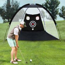 Golf Driving Cage Foldable Indoor Practice Hitting Net Garden Trainer