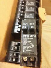 1 New From Bulk Box Eaton Cutler Hammer Bd2020 Duplex Circuit Breaker Best Price