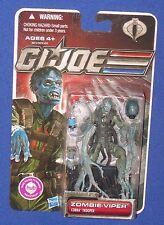 2011 Gi Joe MOC 30th Zombie Viper Cobra Trooper Hasbro