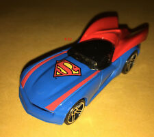 SUPERMAN car HOT WHEELS diecast 1:64 TOY dc justice league DCU