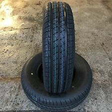 2x 145 80 10 84N 8Ply Rating Security New Trailer tyres x2 145R10 500KG