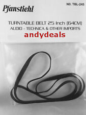 PHONOGRAPH RECORD PLAYER TURNTABLE BELT FOR IMPORTS 25 INCH 64CM