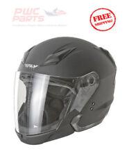 FLY Street TOURIST Helmet FLAT BLACK XX-LARGE Motorcycle Yamaha Kawi   73-81012X