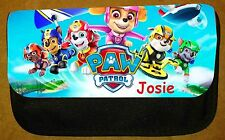 Boys/Girls Personalised Paw Patrol Pencil Case -Include Name - Fab For School