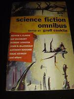 Science fiction omnibus ed. by groff conklin BERKLEY BOOK G-31 SF Paperback 1956
