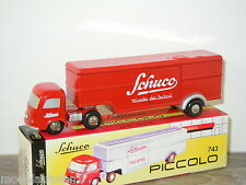 Mercedes Truck & Trailer van Schuco Piccolo 1:90 in Box *6069