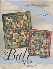 Bali Fever Foundation Paper Pieced Quilt Pattern by Judy Niemeyer for Quiltworx
