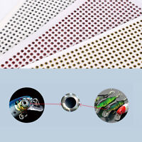 500Pcs Fish Eye 3-6mm 3D Holographic Lure Fish Eyes Fly Tying Jigs Crafts