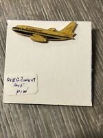 vintage piedmont airlines Airplane Flight RARE Enamel Pin Jet