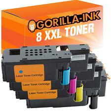 8 Toner XXL für Dell 1250 C 1350 CNW 1355 CN C1760 NW C1765 NF